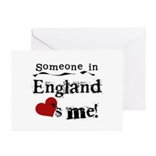 England Loves Me Greeting Cards (Pk of 10)