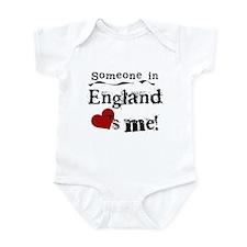England Loves Me Infant Bodysuit