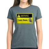 Warning: I Am Zeus Tee