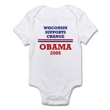 Unique Wisconsin liberals Infant Bodysuit