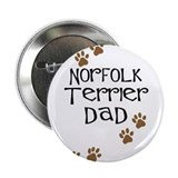 "Norfolk Terrier Dad 2.25"" Button (10 pack)"