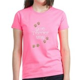 Skye Terrier Mom Tee