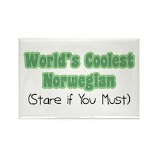 World's Coolest Norwegian Rectangle Magnet