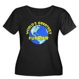 World's Greatest Furrier (D) Women's Plus Size Sco