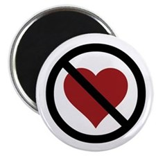 No Love Magnet