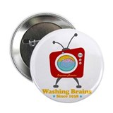 "Washing Brains - Since 1938 2.25"" Button"