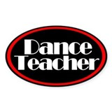 Dance Bumper Stickers
