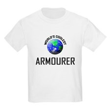 World's Coolest ARMOURER T-Shirt
