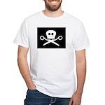 Craft Pirate Scissors White T-Shirt