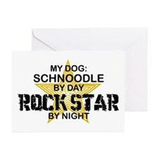 Schnoodle RockStar Greeting Cards (Pk of 10)