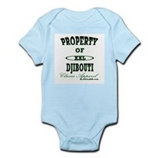 Property Of Djibouti Classic Infant Creeper