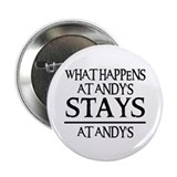"STAYS AT ANDY'S 2.25"" Button (10 pack)"
