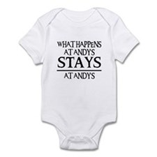STAYS AT ANDY'S Infant Bodysuit