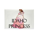 Idaho Princess Rectangle Magnet (10 pack)