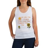 Be Like The Flower Women's Tank Top