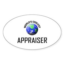 World's Coolest APPRAISER Oval Decal
