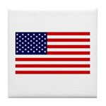 American Flag Coaster