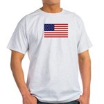American Flag Grey T-Shirt