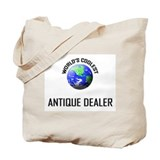 World's Coolest ANTIQUE DEALER Tote Bag