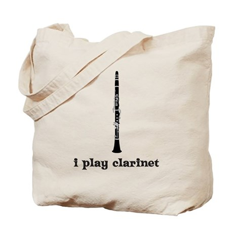 I Play Clarinet Tote Bag