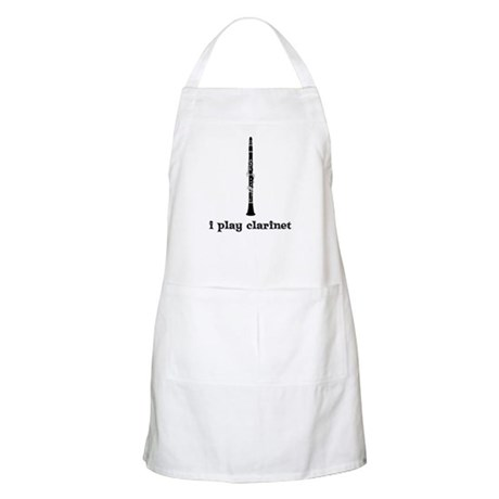 I Play Clarinet BBQ Apron