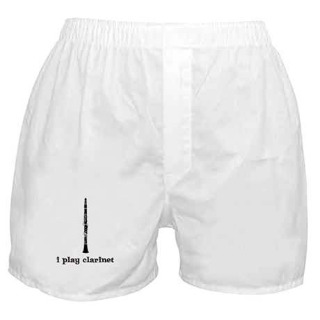 I Play Clarinet Boxer Shorts