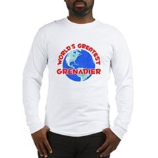 World's Greatest Grena.. (F) Long Sleeve T-Shirt