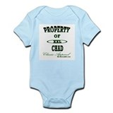 Property Of Chad Classic Infant Creeper