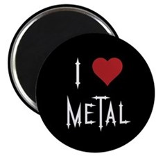 I Love Metal Magnet
