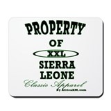 Property Of Sierra Leone Clas Mousepad