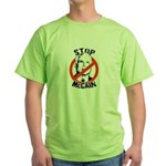Stop McCain Green T-Shirt