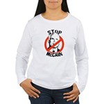 Stop McCain Women's Long Sleeve T-Shirt
