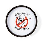Retire Senator McAncient Wall Clock