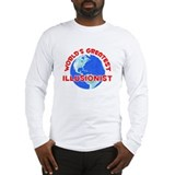 World's Greatest Illus.. (F) Long Sleeve T-Shirt