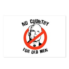 Anti-Mccain / No Country for Old Men Postcards (Pa