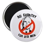 Anti-Mccain / No Country for Old Men Magnet