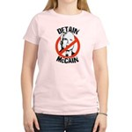 Anti-Mccain / Detain McCain Women's Light T-Shirt