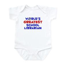 World's Greatest Schoo.. (A) Infant Bodysuit