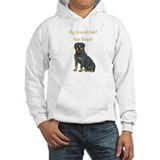 My Grandchild Is A Rottweiler Jumper Hoody