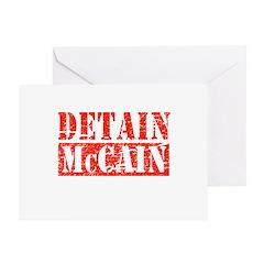 Detain McCain Greeting Card