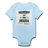 Property Of Rwanda Classic Infant Creeper
