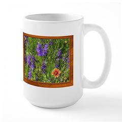 Wildflowers #1 Large Mug