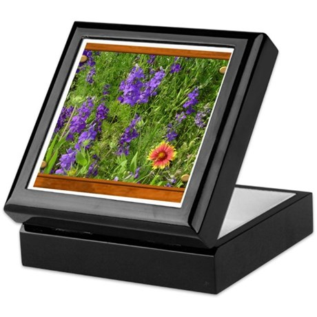 Wildflowers #1 Keepsake Box