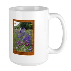 Wildflowers #2 Large Mug