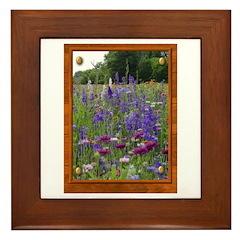 Wildflowers #2 Framed Tile