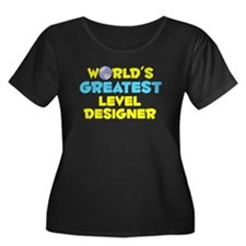 World's Greatest Level.. (C) Women's Plus Size Sco