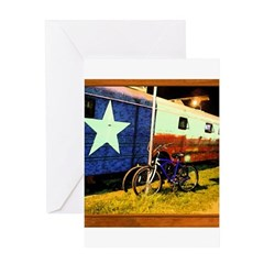 Texas Train Greeting Card