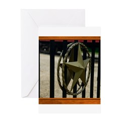 Texas Star #3 Greeting Card