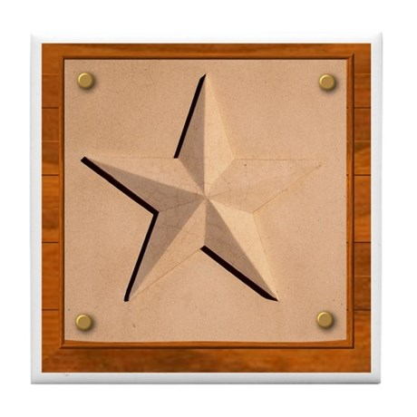 Texas Star #2 Tile Coaster