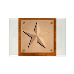 Texas Star #2 Rectangle Magnet